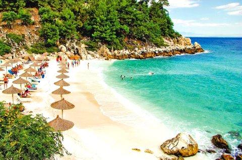 8 napos nyaralás a zöld szigeten, Thassoson