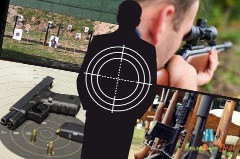 Élménylövészet akár 10 féle 9 mm-es fegyverrel