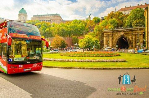 Budapesti városnéző túra sétahajózással