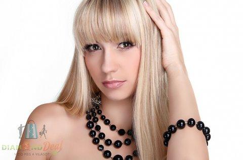 Női haj vágása, mosása, szárítása bármilyen hosszra
