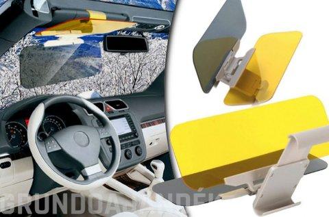 Clear View napellenzőre rögzíthető autós látássegítő