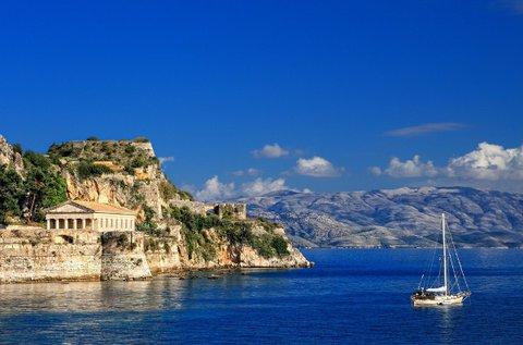 8 nap Görögország legzöldebb szigetén, Korfun