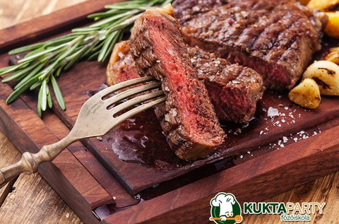 New York Steak főzőkurzus 1 főnek