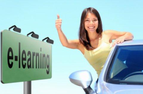 E-learning elméleti oktatás B-kategóriás jogsihoz