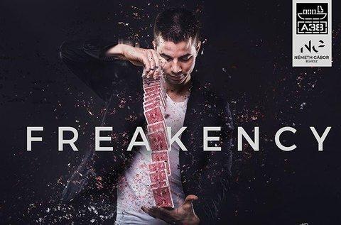 Belépő a Freakency interaktív bűvészműsorra