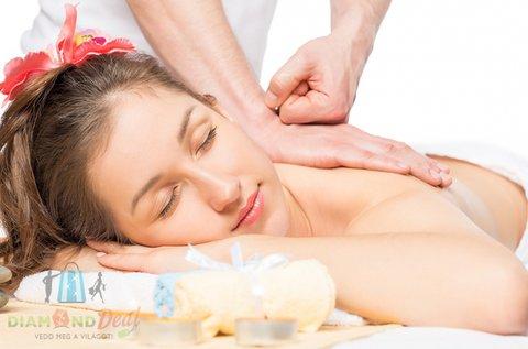 60 perces fájdaloműző olajos gyógymasszázs