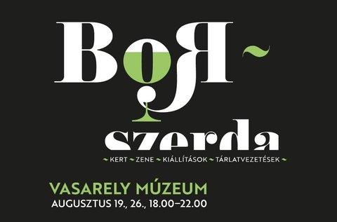 Borszerdák tárlatvezetéssel a Vasarely Múzeumban