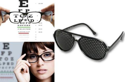 Látásjavító raszterszemüveg