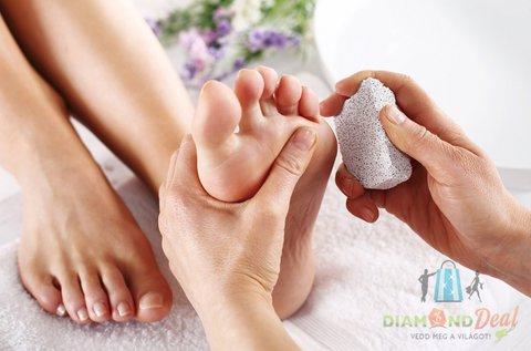 Gyógypedikűr csomag a gyönyörű lábakért