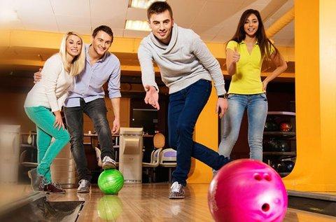 Baráti vagy családi bowling a Római-parton