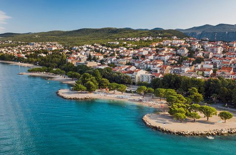 5 napos nyaralás a horvát tengernél, Selcében