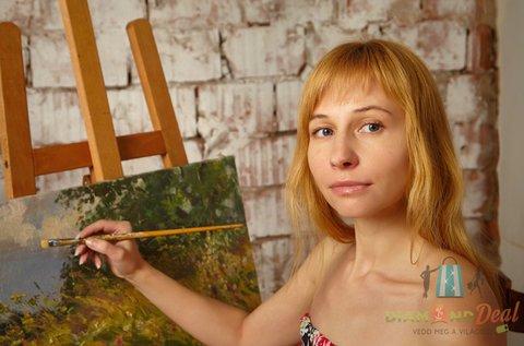 Egyéni festő workshop akrilkép készítéssel