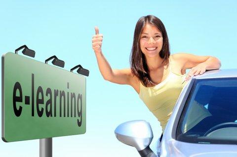 E-learning oktatás B-kategóriás jogosítványhoz