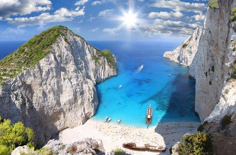 8 napos nyaralás a napsütötte Zakynthoson