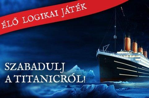 Titanic szabadulószoba 2-6 fő részére