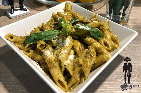 Választható olasz tészta limonádéval