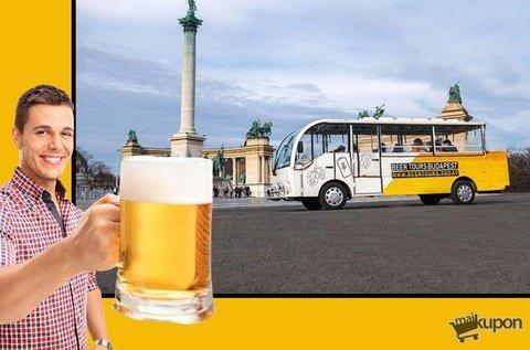 Sörbuszbérlés uraknak 30 l csapolható sörrel