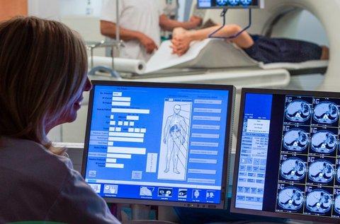 Kontrasztanyagos hasi MR vizsgálat