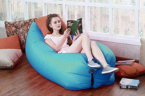 Praktikus, levegővel tölthető relax ágy