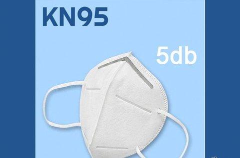 KN95 többször használatos, 10 db-os szájmaszk
