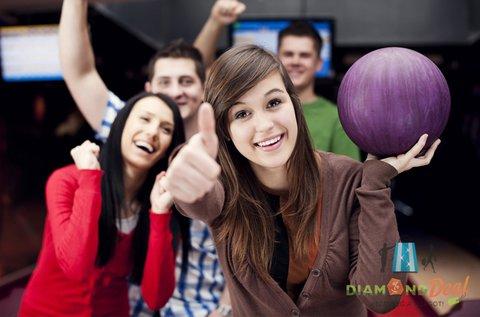 2 órás bowlingozás 8 adag itallal a Római-partnál