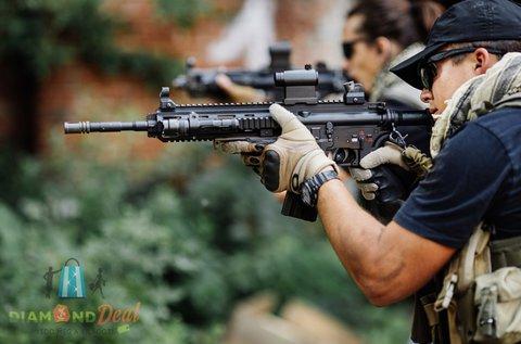 75 lövéses élménylövészet 6 különleges fegyverrel