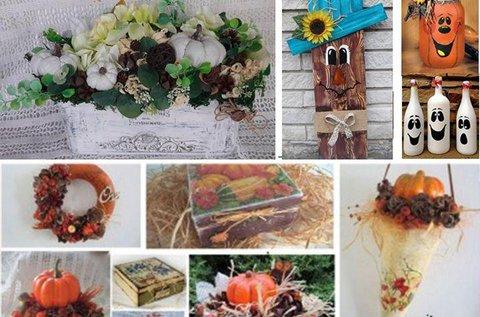 Őszi dekoráció készítő workshop