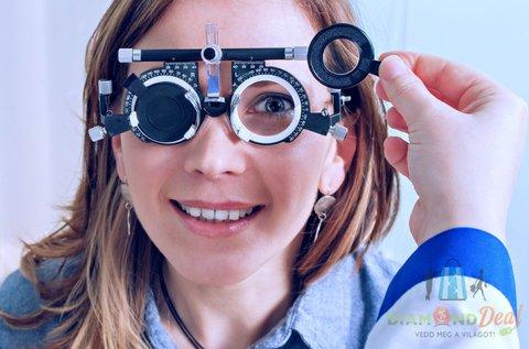 Szemüvegkészítés divatos kerettel