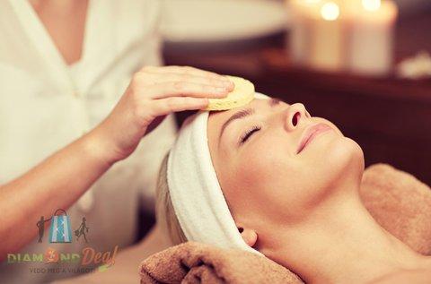 Komplett 9 lépcsős tisztító kezelés arcmasszázzsal
