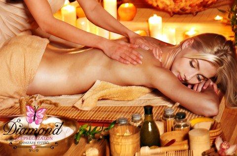 120 perc aromaterápiás stresszoldó testmasszázs