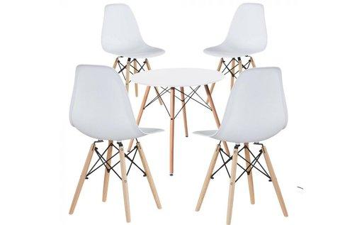 Modern étkezőasztal 4 db székkel