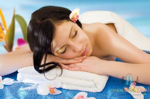 Illóolajos relaxáló masszázs 60 percben