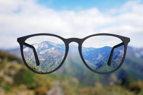Komplett szemüveg normál lencsével, kerettel