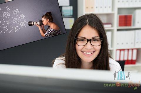 Online fotós képzés elméleti oktatással