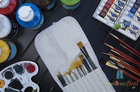 3 órás festő workshop 1 kép elkészítésével