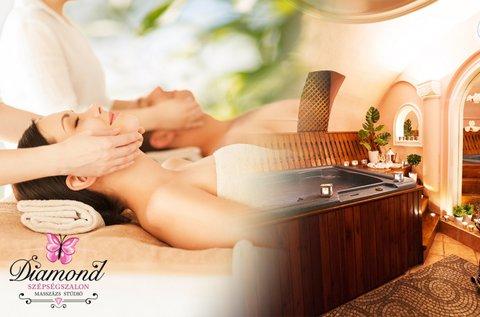 3,5 óra páros relaxáció masszázzsal és wellnesszel