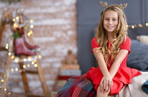 Mesés karácsonyi gyermekfotózás 60 percben