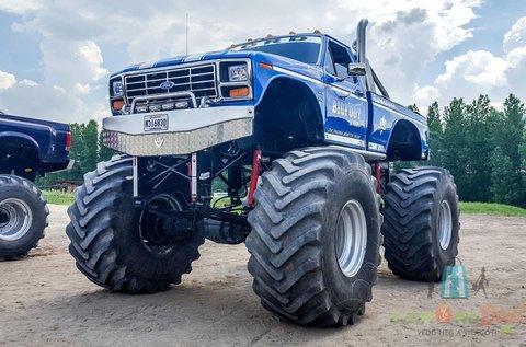 Monster Truck élményvezetés  2 körön át