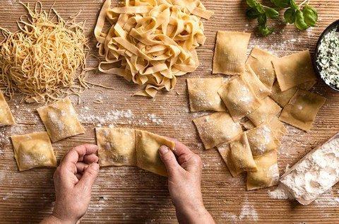Főzőest olasz házi tészták és szószok készítésével