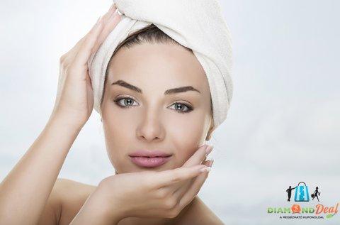 Komplett arctisztító kezelés szemöldökszedéssel