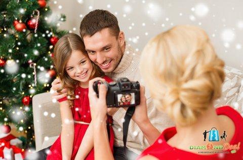 1 órás karácsonyi fotózás legfeljebb 6 fő részére