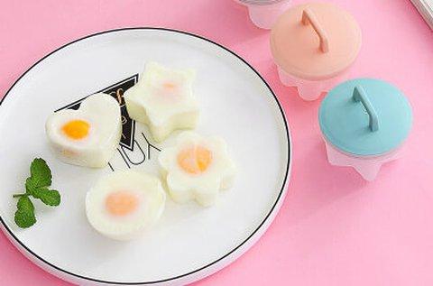 4 db tojásfőző forma a vidám reggelikért