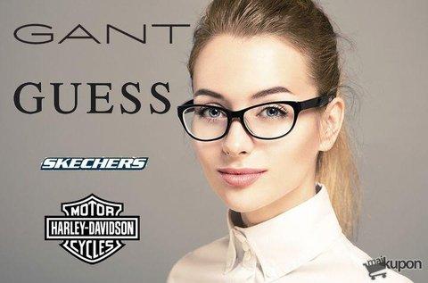 Egyfókuszú szemüveg márkás kerettel