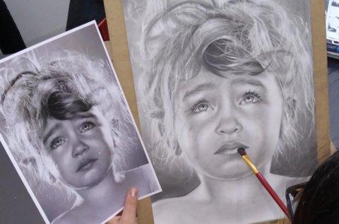 Online jobb agyféltekes rajztanfolyam 12 videóval