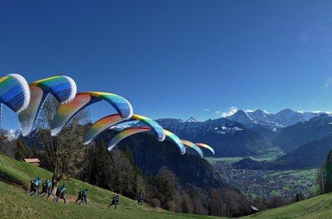 Fantasztikus élmény tandem siklóernyőzéssel
