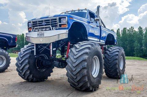 2 körös Ford F150 Buffalo Monster élményvezetés