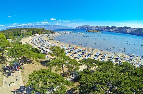 Családi üdülés a horvátországi Rab-szigeten