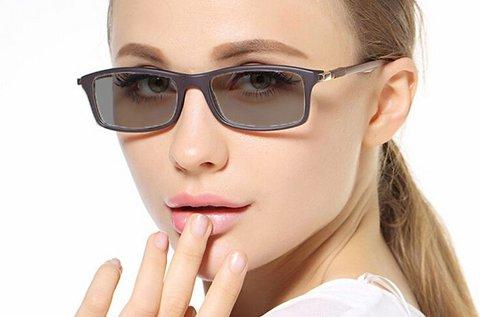 Fényre sötétedő szemüveg látásvizsgálattal
