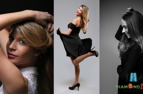 1 órás portréfotózás 100-150 profi képpel