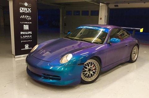 Száguldj egy Porsche 911 versenyautóval!